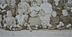 1st class at Brighton School, Victoria - very early 1900s - detail (Aussie~mobs) Tags: wedmends school group pupils students scholars brighton class vintage victoria brunswick