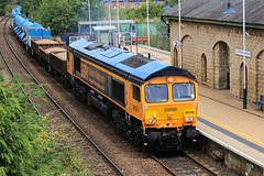 GBRF 66782 - Mansfield Woodhouse (the mother '66' 66001) Tags: gbrf class66 66782 mansfield mansfieldwoodhouse nottinghamshire toton doncasterdecoy doncaster 6m73 robinhoodline railways
