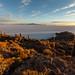 Lever de soleil sur l'Île d'Incahuasi