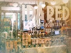 IDA RED (clarkcg photography) Tags: idared sodafountain syrup cones drinks topings mirror street frontdoor