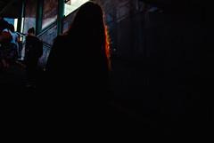 Fragment (ewitsoe) Tags: 35mm city europe ewitsoe nikond80 street warszawa erikwitsoe poland summer urban warsaw redhair silhouette heavyshadow lastlight reflectedlight sliverofhair highlght red darkness shadows light metro travel