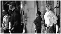 comfortable silence (gro57074@bigpond.net.au) Tags: people cbd sydney haymarket candid streetphotography street f14 105mmf14 artseries sigma d850 nikon grain mono monotone monochrome blackwhite bw moment contemplation