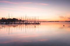 Lake Chiemsee, Bavaria (Sunny Herzinger) Tags: chiemsee dedeutschland sunrise refelction europa alps mist moody lake bayern alpen herkunft fujixpro2 chiemgau house bavaria fog xf1655mm cottage rimsting germany de