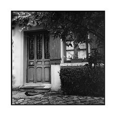 alley • auvers-sur-oise, france • 2016 (lem's) Tags: alley door window tree arbre maison fenetre porte allée house auvers sur oise france rolleiflex planar