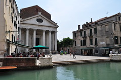San Nicola de Tolentino (XVIIe-XVIIIe), campo dei Toletini, Santa Croce, Venise, Vénétie, Italie.
