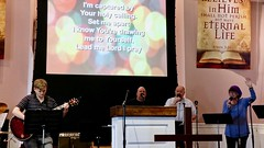 Worship Service with Pastor Randy Matthews (8-19-2018)- Musical Praise Time (nomad7674) Tags: 2018 20180819 august beacon hill church efca evangelical free worship service monroect monroe ct connecticut christian christianity praise music musician sing singing singers song hymn psalm spiritual