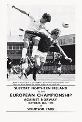 Northern Ireland vs Sweden - 1975 - Page 17 (The Sky Strikers) Tags: northern ireland sweden the european championship windsor park programme 20p