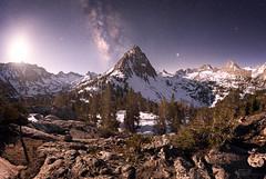 Stone Cold (Goldpaint Photography) Tags: nightsky milkyway moonlight stars longexposure sierranevada california