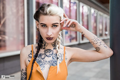 Mellifère - Paris - Août 2018 (Laurène Zabary - Photographie) Tags: girl fille frenchgirl paris parisienne ink inked tattoo tattoos tattooed alternativemodele altmodel portrait outdoor outdoors portraits model shooting photo photoshoot daylight lumièrenaturelle individuel person personne fashion