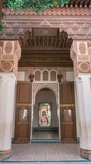 advanced selfie (bea.bujalance) Tags: architecture door advanced selfie advancedselfie plant green mirror palace bahia morocco moroccan marruecos marrakech