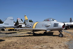 52-4913 RF-86F Sabre US Air Force (eigjb) Tags: pacific coast air museum santa rosa california usa sonoma county airport 2018 aircraft pcam aviation 24913 rf86f sabre f86 north american force jet military usaf fighter cold war reconnaissance version swept wing transonic 524913