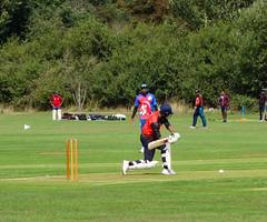 Cricket, Raghuvanshi Charitable Trust Playing Field (London Less Travelled) Tags: uk unitedkingdom britain england london harrow suburb suburbia suburban urban city cricket park raghuvanshi sport