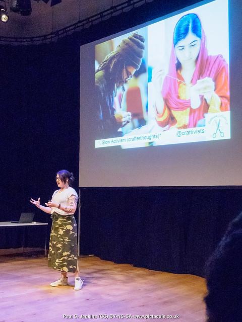 P7260097 Sarah Corbett at Winchester Skeptics