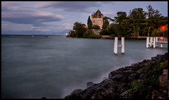 YVOIRE CASTLE  -  LAKE LEMAN (J.P.B) Tags: boattrip lakeleman geneva savoie yvoire lac leman castle chateau lake