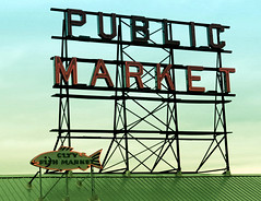 Pike Place...Seattle (al-ien) Tags: publicmarket seattlewashington seattle sign iconic fish