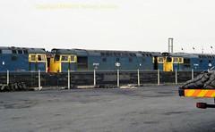 Falkland Yard 27004'017'004 12july86 a329 (Ernies Railway Archive) Tags: ayr falklandyard gswr lms scotrail
