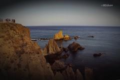 Las Sirenas (mariadoloresacero) Tags: espagne spain cabo cap beauté beauty belleza light lumière luz almería gata rocher marinas rocas arrecife de las sirenas