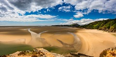 Low tide(explored) (Phil-Gregory) Tags: beach portmeirion nikon d7200 sigma18250macro sigma wales panorama sea