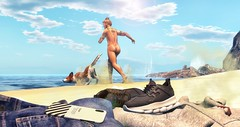 I want to be wild, beautiful, and free. Just like the sea. (brian.werefox) Tags: findyours tmd versov vale koer signature catwa jian sea summer beach avatar secondlife bolson