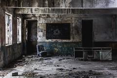 Decaying school ... (Aurélienki) Tags: decayingworld decay lostplaces abandonedworld abandonedplaces abandoned urbex