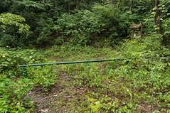 Oil Camp Creek road - 1 (MarksPhotoTravels) Tags: gate greenvillecounty mountainbridgewildernessarea oilcampcreekroad southcarolina