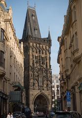 Powder Tower (Teelicht) Tags: altstadt architektur czechrepublik europa europe prag prague praha pulverturm staremesto tschechien turm architecture historicdistrict oldcity powdertower tower