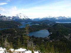Bariloche,patagonia Argentina !!! (Gabriel mdp) Tags: mirador cerro campanario lago nahuel huapi cordillera andes patagonia argentina naturaleza paisaje landscape sur contrastes nieve