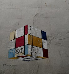 Koobism (Grooover) Tags: cube blocks street art margate kent grooover