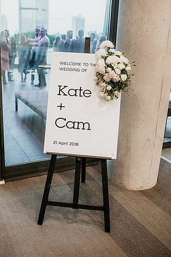 Cameron & Kate's Brisbane Convention & Exhibition Centre Wedding