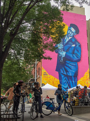 Harlem, New York (Quench Your Eyes) Tags: centralharlem harlemday mural ny biketour bmike dance dancelessons dizzygillespie educationisnotacrime harlem harlemswingjazzdancebiketour jazz jazzbiketour manhattan newyork newyorkcity nyc streetart swing swingdance urbanart wallart