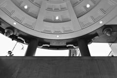 Not Tangent (Rich Renomeron) Tags: fujifilmxt20 fujinonxc1650mmf3556oisii bw ceiling dc galleryplace metro washington