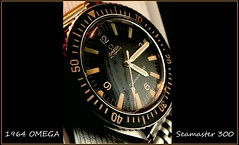 1964 OMEGA Seamaster 300. all original, Watch, Vintage (> Pinoy) Tags: omega seamaster 300 watch vintage original mens mensjewelry seamaster300 vintageomegaseamaster300 collectibles bestwatches watches divers diverswatch blackdial black dialscandle stick hands1964