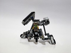 Lego moc - Speeder mecha (c_s417) Tags: lego bricks speeder bike mech mecha moc robot suit mobile army mini figures minifigures toys cars