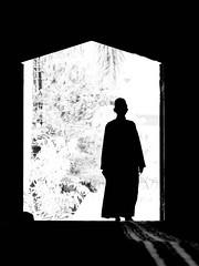Path of light (A. Yousuf Kurniawan) Tags: light silhouette people mosque frame contrast monochrome blackandwhite streetphotography decisivemoment door gate minimalism minimalist banjarmasin kalimantan borneo