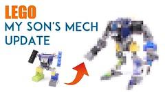 Thumbnails of videos posted on YouTube (Mishima Productions) Tags: lego mech mechsuit legomoc legomech legomecha mishima mishimaproductions レゴ レゴブロック レゴロボ youtube thumbnail