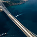 Aerial photo of the Yavuz Sultan Selim Bridge in Istanbul