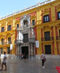 Palacio Episcopal. Málaga. (lameato feliz) Tags: málaga palacioepiscopalmálaga