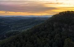 Changing clouds and light - Morton National Park (Den Rob) Tags: bush trees australian mortonnationalpark nearbundanoon clouds ridges gullys cliiffs sandstone nikon d750 sigma 50mm f14