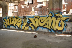 NINZ HEMZ (TheGraffitiHunters) Tags: graffiti graff spray paint art pennsylvania pa philly philadelphia bando abandoned building character