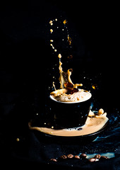 August Splash Challenge (richardmusumeci) Tags: coffee milk splash