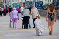 Great British Summer - 17 (Rosetta Bonatti (RosLol)) Tags: england rosettabonatti roslol uk westonsupermare summer british seaside people street streetphotography candid girls elderly walking