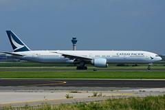 B-KQA (Cathay Pacific) (Steelhead 2010) Tags: cathaypacific boeing b777 b777300er breg bkqa yyz