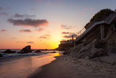 Woods Cove Laguna Beach June 6, 2018 (ctd82271) Tags: california beach landscape beautiful pacificocean seashore sunset canonphotography beachscape lagunabeach clouds