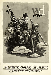WD Eye, Imagineering Crossing the Atlantic - Tales from the Trenches (gameraboy) Tags: vintage disney vintagedisney disneyland vintagedisneyland wdeye magazine cover magazinecover