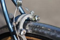 Vegard's SS Rando (davidkrevs) Tags: randonneur custom bicycle paul usa randobikes rando singlespeed steelisreal framebuilding porsche irisblau brooks veloorange velo orange