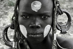 Mursi (KRAMEN) Tags: mursi etiopía áfrica people tribu portrait face