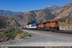 BNSF #5864 (Marco Stellini) Tags: bnsf railroad santa fe cajon pass california san bernardino 5864 general electric ge c449w dash9