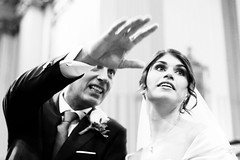 528201809bDESIO-33 Bride (GIALLO1963) Tags: snapshot candid street people ngc daughter father look blackandwhite woman girl portrait marriage bride wedding lombardy italy europe