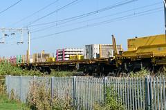 31 70 4629 047-2 Kingsthorpe 020918 (Dan86401) Tags: wilsonscrossing kingsthorpe northampton wcml 6x04 317046290472 7046290472 4629047 704629 4629 70riv riv uic ctregistered ifa bogie sleeper wagon freight nr networkrail sfkmmss engineers departmental infrastructure