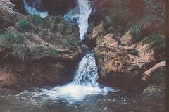 Kravica (bluishgreen12) Tags: kravica kravicewaterfalls herzegovina bosnia film filmphotography analog waterfall water pool rocks vintagecamera minoltax700 kodakektar100